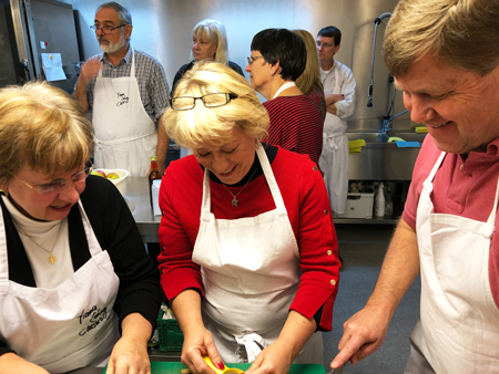 Viennese Cooking class in studio